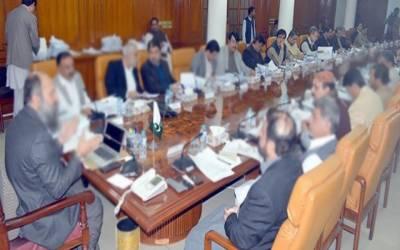 صوبائی کابینہ کے اجلاس میں محکمہ لیبر کے حوالے سے اہم فیصلے
