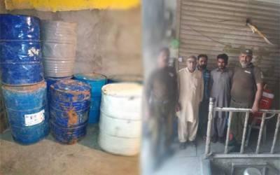 باغبانپورہ پولیس کا گھر پر چھاپہ، 680 لیٹر شراب برآمد، 3 ملزم گرفتار