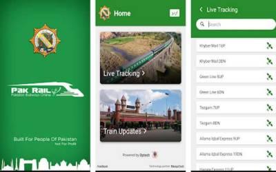 پاکستان ریلوے کی موبائل ٹریکنگ ایپ مسائل کا شکار