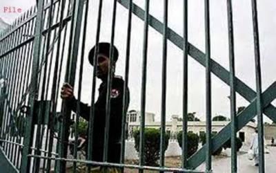 کیمپ جیل میں فلمی سین ہوگیا