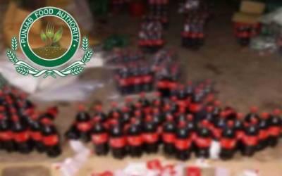 معروف برانڈز کی جعلی بوتلیں تیار کرنیوالی فیکٹری پکڑی گئی