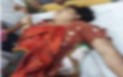 ظلم کی انتہا، شوہر کا چھریوں سے بیوی پر حملہ