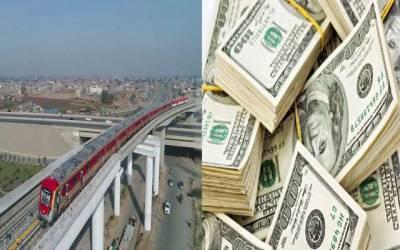 ڈالر کی اونچی پرواز، اورنج لائن ٹرین منصوبے کو شدید مالی دھچکا