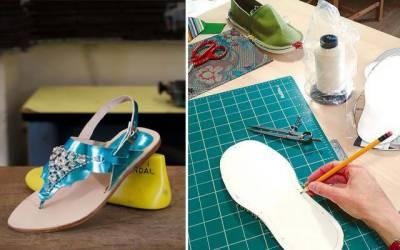 مشینی دور میں ہاتھوں سے بنے جوتے اپنی مثال آپ