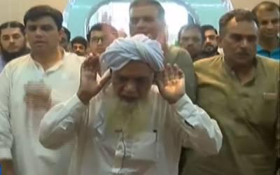 تحریک انصاف کے رہنما آجاسم شریف کے والد حاجی شریف کی نماز جنازہ ادا