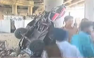 کوٹ لکھپت پھاٹک پرخوفناک ٹرین حادثہ