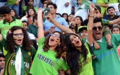پاکستانی شائقین کرکٹ کیلئے بڑی خوشخبری