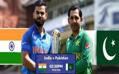 ورلڈ کپ کے محاذ پر پاکستان اور بھارت کی آج کرکٹ جنگ ہوگی