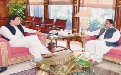 وزیراعظم عمران خان سے وزیر اعلیٰ پنجاب سردار عثمان بزدار کی ملاقات