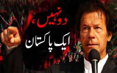 تحریک انصاف کا دو نہیں ایک پاکستان کانعرہ ہوا ہوگیا