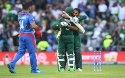 پاکستان کی دلچسپ مقابلے کے بعد افغانستان کو شکست