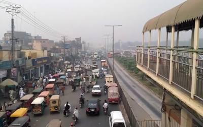 شاہدرہ چوک:تعمیراتی کاموں کے باعث شہریوں کے مسائل مزید اضافہ