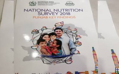 پنجاب میں قومی غذائی سروے سال 2018 -19 کی رپورٹ جاری