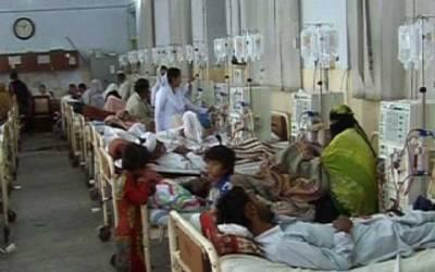 گیسٹرو اور ڈائریا کے مرض میں اضافہ، 4500 افراد مبتلا