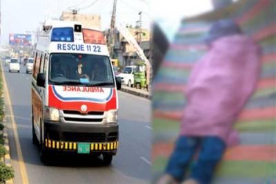 نشتر کالونی، خوفناک ٹریفک حادثہ میں بچہ جاں بحق