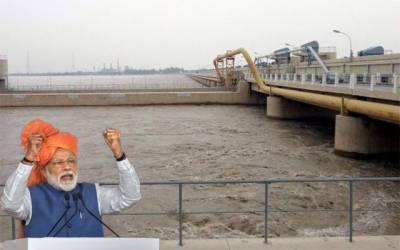 بھارتی آبی جارحیت کا خطرہ برقرار