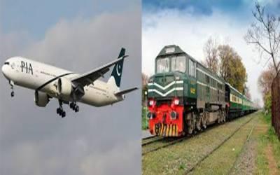 ٹرینوں کی تاخیراور فلائٹ آپریشن میں بہتری نہ آسکی