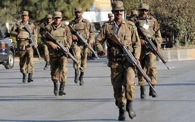 کس ضلع میں کتنی فوج کی ضرورت ہے؟ محکمہ داخلہ نے تفصیلات مانگ لیں