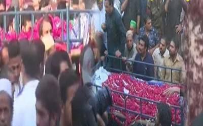 لیجنڈری لیگ سپینر عبدالقادر کی نماز جنازہ ادا