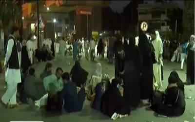 کنٹریکٹ ملازمین سراپا احتجاج، سول سیکرٹریٹ کے باہر دھرنا