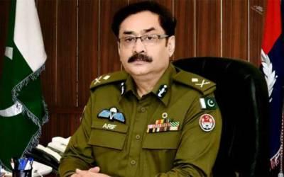 آئی جی پنجاب نے لاہور میں بڑھتے ہوئے جرائم کا نوٹس لے لیا