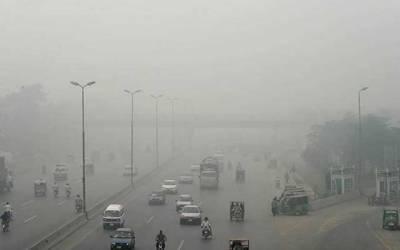 لاہور کی فضا بدستور آلودہ، اے کیو آئی کی شرح276 ریکارڈ
