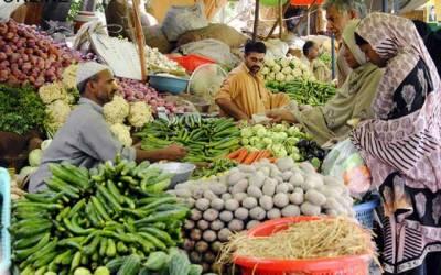 سبزیوں کی قیمتوں نے لاہوریوں کو چکرا کر رکھ دیا