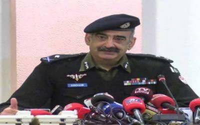 آئی جی پنجاب کا قلعہ گجر سنگھ پولیس لائنز میں پولیس دربار سے خطاب