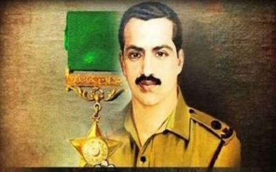پاک فوج کے نامور سپوت میجر شبیر شریف شہید کا 48 واں یوم شہادت