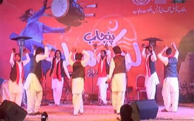 پنجاب لوک میلہ جوش وخروش سے جاری