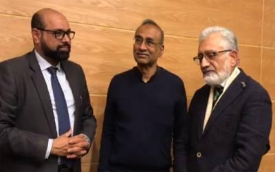 یونیورسٹی آف ہیلتھ سائنسز کے وفد کی نوبل انعام یافتہ برطانوی سائنسدان سے ملاقات