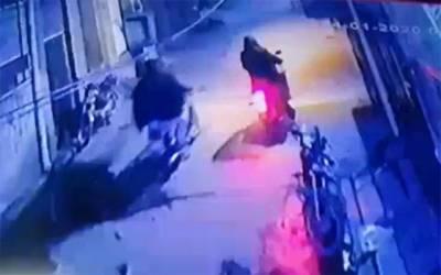 شادباغ، شہری گھر کی دہلیز پر لٹ گیا