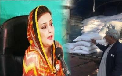 پنجاب حکومت نے عظمیٰ بخاری کے گھر آٹے کا ٹرک بھیج دیا