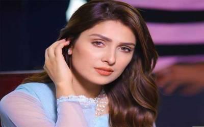 عائزہ خان کےنئے فوٹو شوٹ نے سوشل میڈیا پر ہلچل مچادی