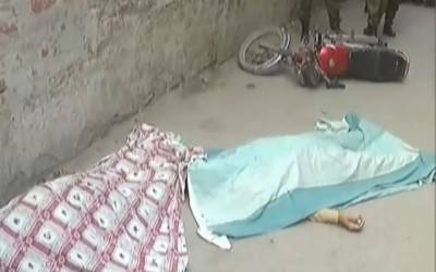 ہربنس پورہ میں دوہرے قتل کی واردات، لوگوں کا گواہی دینے سے انکار