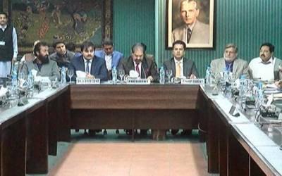 صوبائی وزیر خزانہ کا لاہور چیمبر کا دورہ