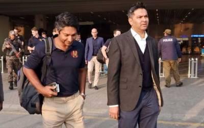 ایم سی سی کرکٹ ٹیم 48 برس بعد پاکستان پہنچ گئی