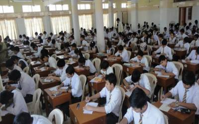 میٹرک کے امتحان کا آغاز ہوگیا