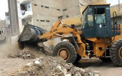 جوہر ٹاؤن، ایل ڈی اے کی غیرقانونی تعمیرات کے خلاف کارروائی