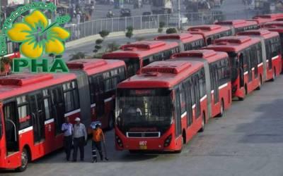 پی ایچ اے نے میٹرو بس منصوبے کو چونا لگا دیا