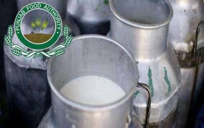 فوڈ اتھارٹی کی ملک شاپس اور دودھ بردار گاڑیوں کی چیکنگ
