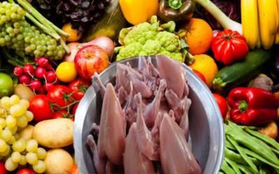 پھل، سبزیاں مہنگے،برائلر گوشت کی قیمت کہاں پہنچ گئی