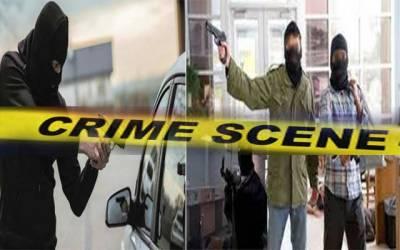چوری و ڈکیتی کی وارداتوں میں لاہوریوں کو لاکھوں کا نقصان
