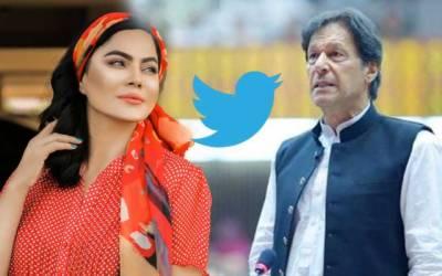 وینا ملک کی وزیراعظم عمران خان کے حق میں ٹویٹ