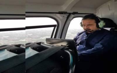 عثمان بزدار کے زیر استعمال ہیلی کاپٹر کی انشورنس فیس 2 کروڑ 61 لاکھ تک پہنچ گئی
