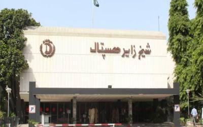 شیخ زید ہسپتال میں چوری کا انوکھا واقعہ