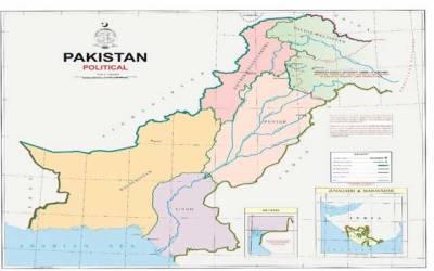 مقبوضہ کشمیر پاکستان کے نقشے میں شامل