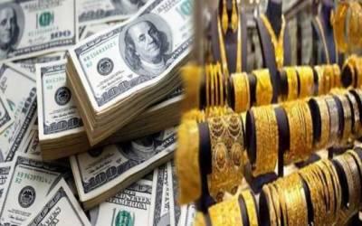 ڈالر اور سونے کی قیمتوں میں مزید اضافہ