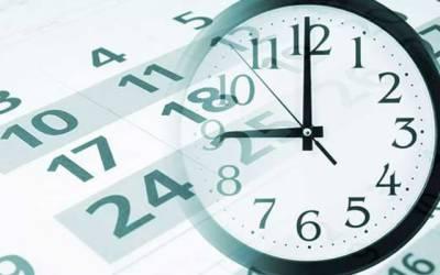 کاروباری او رتجارتی اداروں کے اوقات کار تبدیل کرنیکا فیصلہ