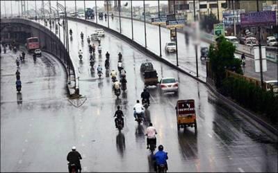 پنجاب کے بیشتر اضلاع میں بارش کی پیشگوئی